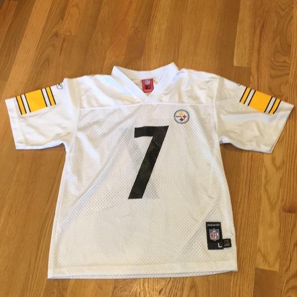 best authentic b11ba 918da Pittsburgh Steelers Football Jersey #7